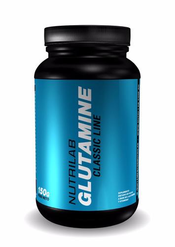 glutamina x 150 gr nutrilab classic line