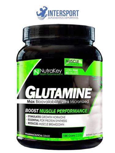 glutamine micronized 1 kilo nutrakey, glutamina 100% pura