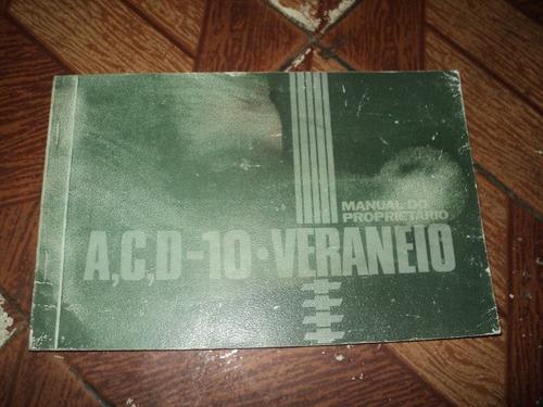 gm a,c,d-10.veraneio nov.1982 manual