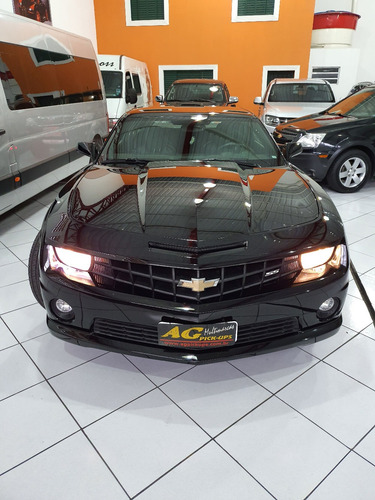 gm chevrolet camaro ss 6.2 v8 2011 preto autom top roda 22