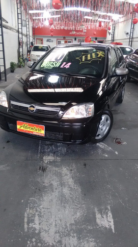 gm - corsa hatch maxx 1.4 flex preto 2010