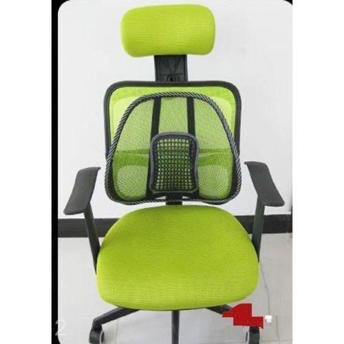 gm espaldar  auto silla oficina antiestres lumbar oferta
