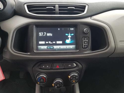 gm onix lt mylink 1.0 2018 unico dono baixa km preto novo!