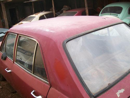 gm opala 1973 4 portas p/ tirar peças tem mecanica original