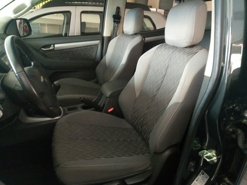 gm s10 advantage cabine dupla 2.4 flex 2016 muito nova cinza