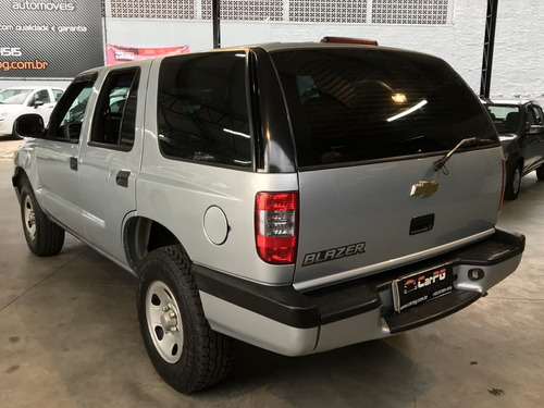 gm s10 blazer 2.4 advantage  8v flex  manual 2010 impec