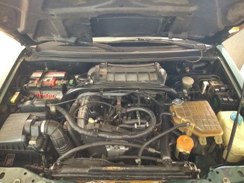 gm tracker 2.0 - diesel - turbo intercooler