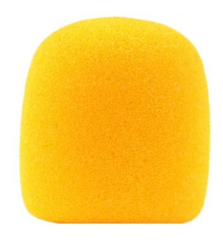 gm515 - espuma p/ microfone amarela gm 515 - csr