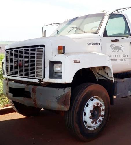 gmc 16-220 - 98/98 - truck, no chassi, mecânica original