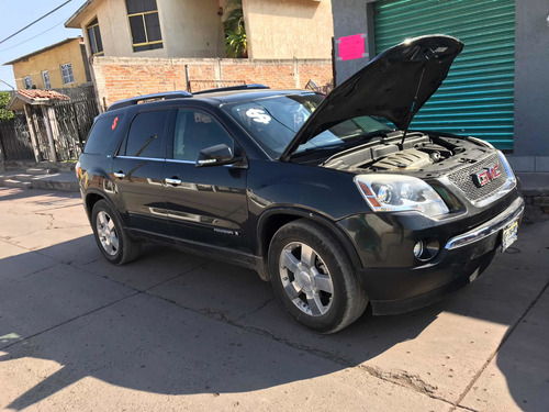 gmc acadia 3.6 c 7 pas qc piel 4x4 at 2008