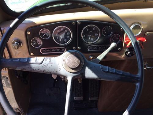 gmc modelo d 930 ano  1957 placa preta