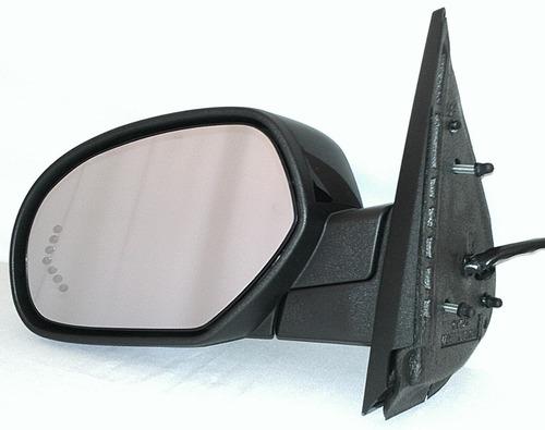 gmc sierra 2007 - 2013 espejo izquierdo electrico nuevo!!! ^