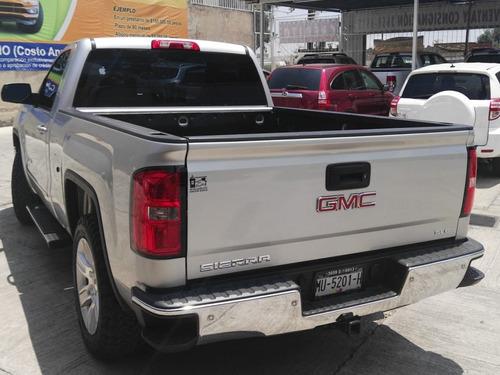 gmc sierra 5.3 cabina regular sle 4x4 mt 2014