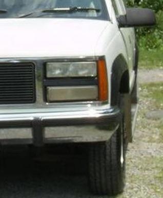 gmc suburban 1992 - 1999 faro cuarto izquierdo nuevo!!!