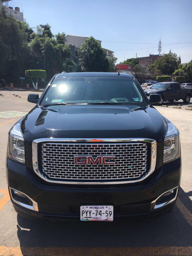gmc yukon 6.2 denali 8 vel awd at 2016
