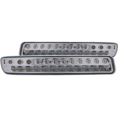 g.m.c yukon /yukon 00-06 /sierra 99-06 l.e.d p/lights chrome