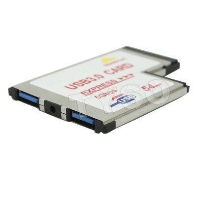 gmyle (tm) 5 gbps bc618t 54mm 2 puerto usb 3.0 del ordenador