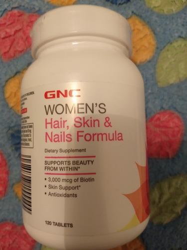 gnc women's, cabello, piel y uñas