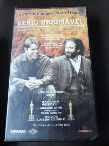 gênio indomavel -vhs -drama