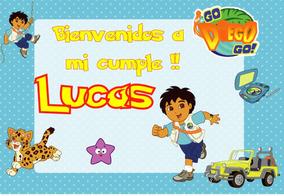 Go Diego Go Kit Imprimible Personalizado