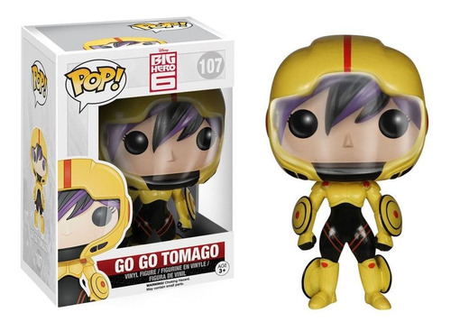 go go tomago #107 - big hero 6 - funko pop!