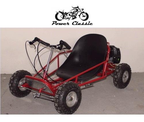 go kart a motor para ninos 2t 49cc -powerclassic cl