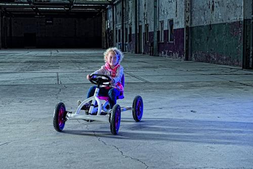 go kart a pedal berg buddy blanco