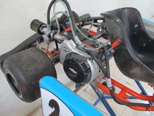 go kart formula mundial chasis intrepid