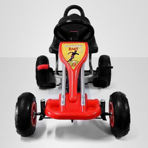 go kart pedales rojo - niño juguete