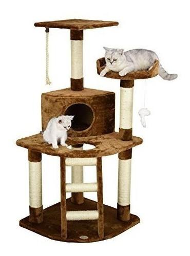 go pet club - árbol de gato condo casa