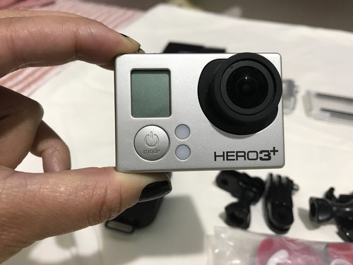 go pro hero 3+ black edition com visor