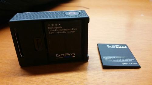 go pro hero 3+ black sem cart memória 3 bateria e acessórios