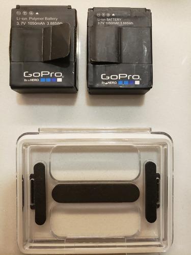 go pro hero 3 c/ controle wi-fi + 2 baterias em otimo estado
