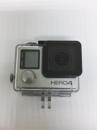 go pro hero 4 silver camera tela lcd + acessórios