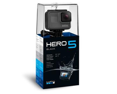 go pro hero 5, negro, 1x12 megapixel cmos sensor, wifi