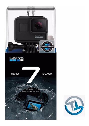 go pro hero 7 black/nueva/sellada/4k60fps/hypersmooth/gps/