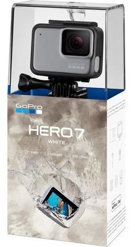 go pro hero 7 white, resistente al agua, 10mp,