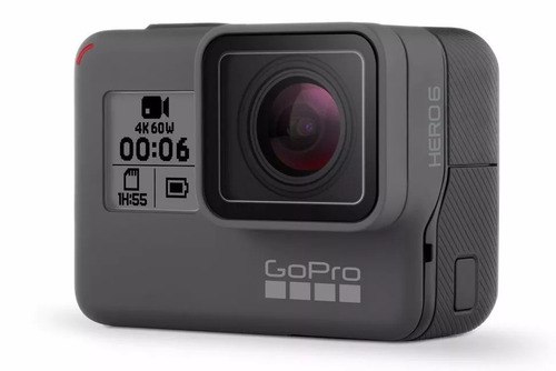go pro hero6 black camera gopro 6 ultra hd + memoria 64 gb