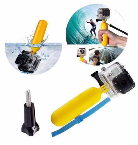 go pro kit accesorios con palo de selfies para cámaras gopro
