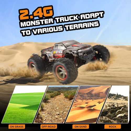 go stock rc control remoto de coche rc cars monster truck
