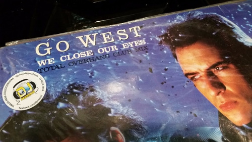 go west we close our eyes (total overhang club mix) vinilo