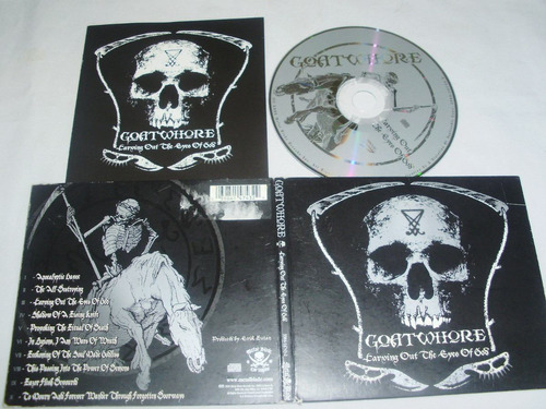 goatwhore ~ carving out the eyes of god (digipack)