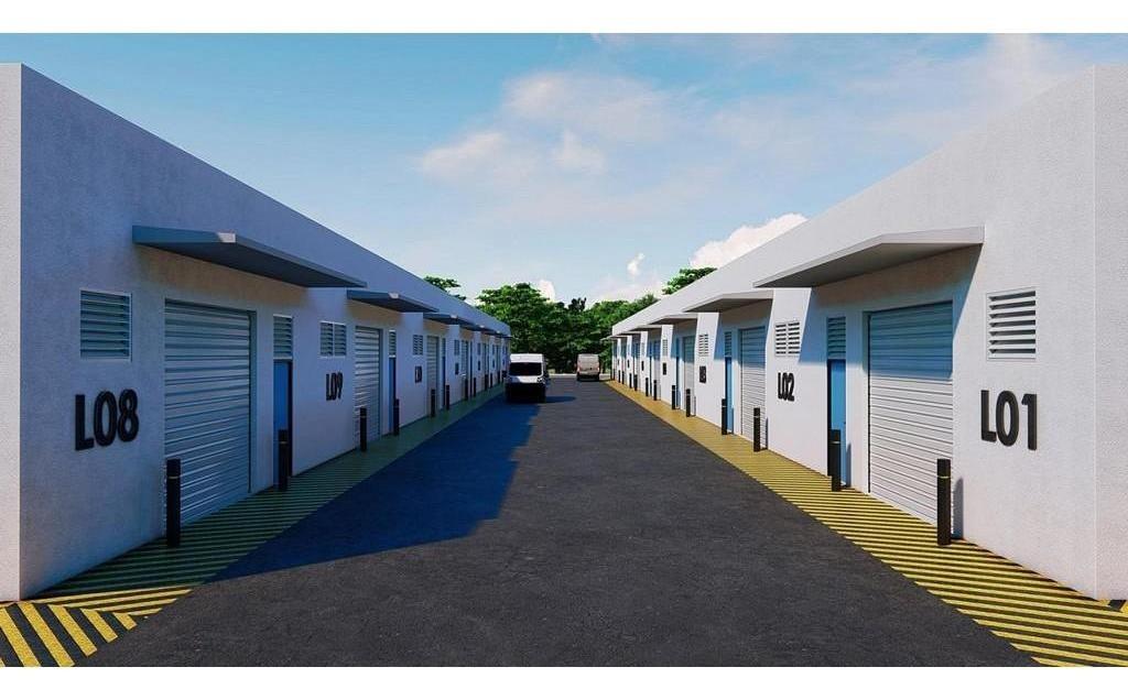 goba bussines park, bodega en renta de 160 m2 en carretera chucxulub