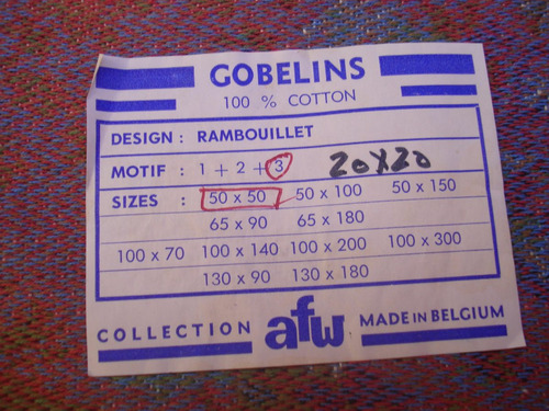 gobelino belgica afw