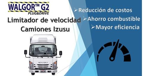 gobernador limitador de velocidad para camiones izusu