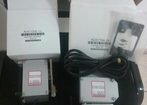 gobernadores actuadores sensor de presion aceite de temp msp