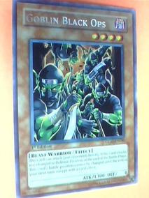 Goblin Black Ops -x1- Glas-en030- Rare- Beast Warrior Yugioh