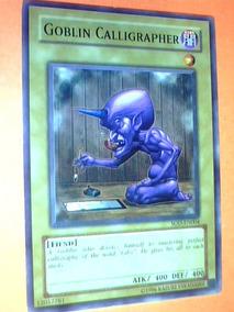 Goblin Calligrapher -x1- Sod-en004 - Yugioh - Fiend