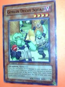 Goblin Decoy Squad -x1- Csoc-en032 - Warrior / Effect Yugioh