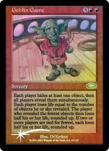 goblin game x 1 foil mtg